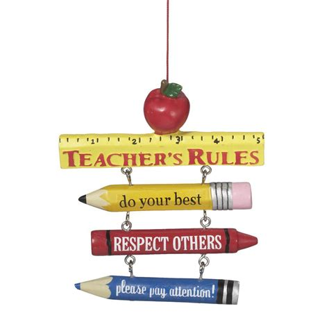 buy your teacher christmas tree ornaments early unique