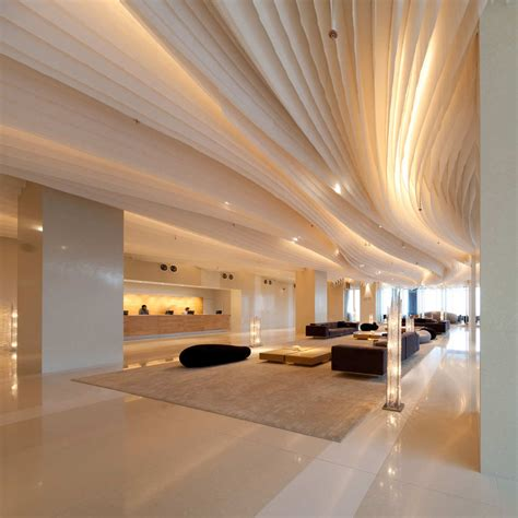 Hilton Pattaya Floating Hotel In Thailand Idesignarch Hton Interior Design