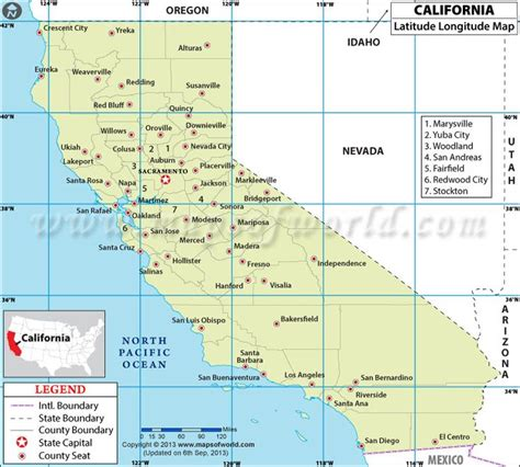 map of california with latitude and longitude lines california latitude and longitude map 4th grade social