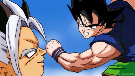 imagenes de goku y zaiko goku vs zaiko by salvamakoto on deviantart