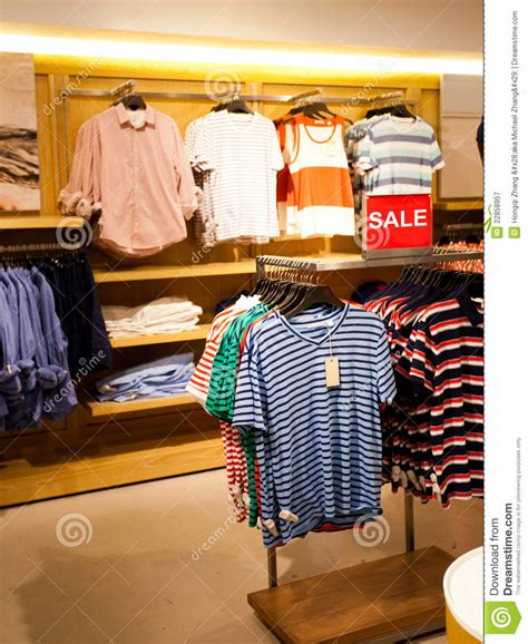 s clothing store royalty free stock photography