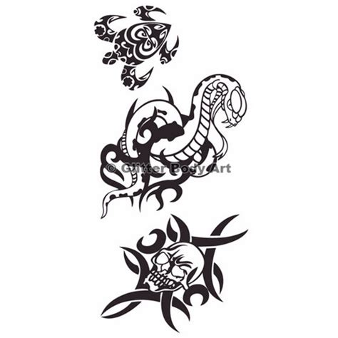 easy tattoo transfer water transfer tattoo sheet design 016 temporary