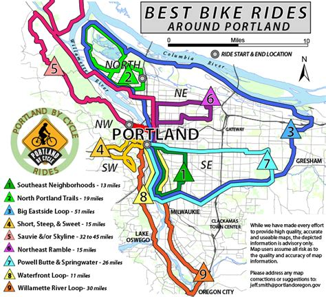 rails to trails oregon map tour on top 10 bike friendly towns redefy real estate