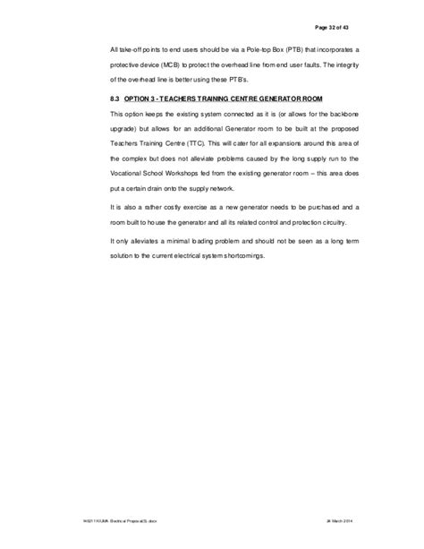 request letter for electrician 140211 kiuma electrical s