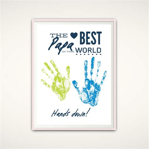 papa print birthday gift papa personalized by fromtherookery
