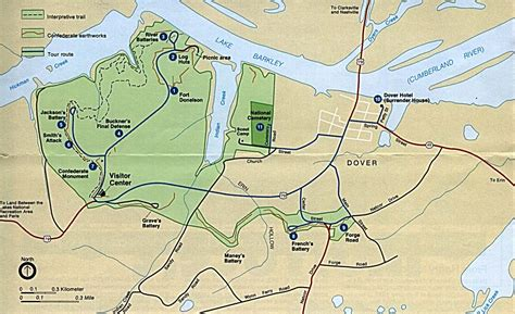 uni tn lettere maps of national historic parks memorials and