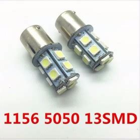 Lu Led Rem Mobil lu led rem mobil 1156 13 smd 5050 5w 2pcs white