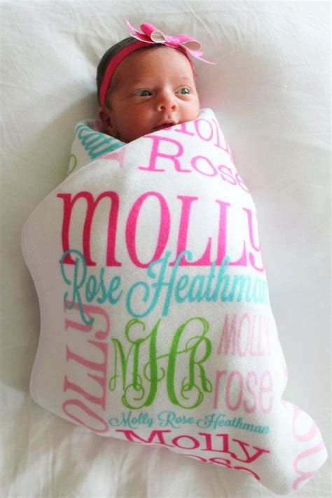 Summer Baby Name Blanket best 25 personalized baby gifts ideas that you will like