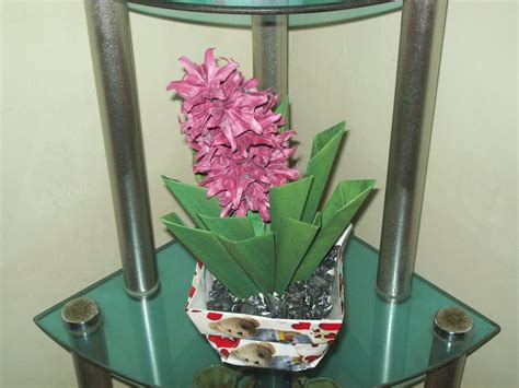 Origami Hyacinth - origami hyacinth by craft lover on deviantart