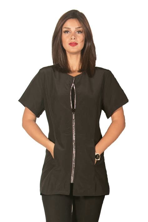 Hair Stylist Vests And Jackets by Fashionable Stylist Smocks And Jackets Fashionable
