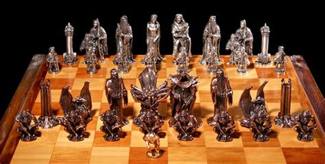best chess sets graeme anthony pewter products chess sets