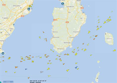 ship ais internet of ships tells tale of uss fitzgerald tragedy