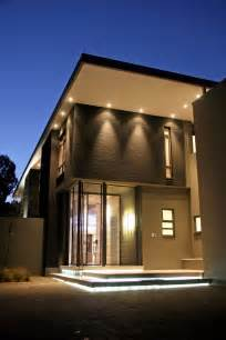 Exterior Home Lighting Design by Luxury And Large Contemporary House Nice Lighting Home