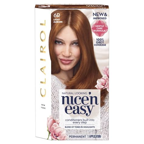 clairol light reddish brown hair dye clairol gives iconic n easy easy dye a gentle touch