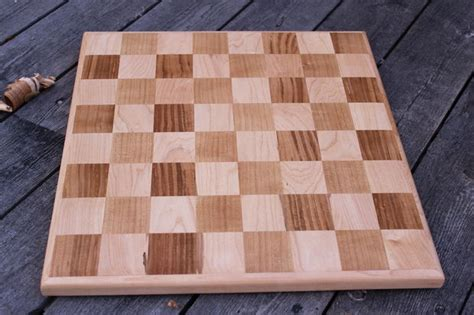 woodworking chess board solid wood chess board