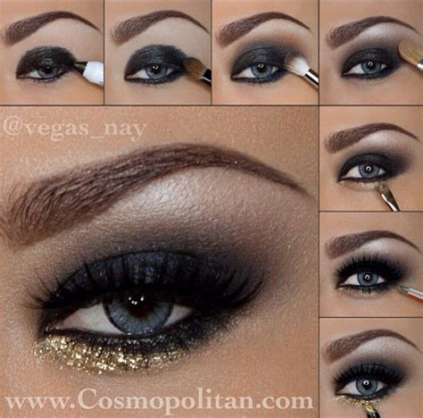 tutorial make up pengantin step by step step by step eye makeup makeup pinterest nice