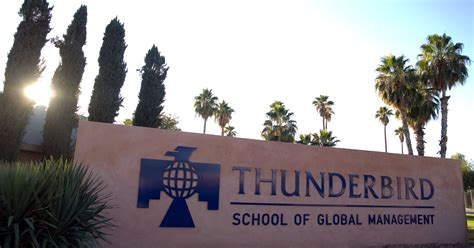 Thunderbird School Of Management Mba by Asu S Thunderbird Management School Moving To S