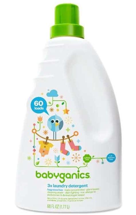 Baby Organics Baby Laundry Liquid 1 Liter parents need top 5 best baby safe laundry detergents