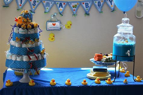 Baby Shower Boy Themes by Rubber Duck Themed Baby Shower Ideas Popsugar