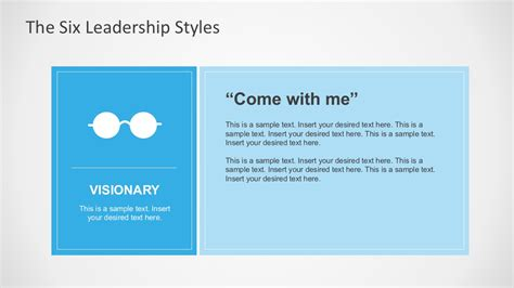 Six Leadership Styles For Powerpoint Powerpoint Style Templates