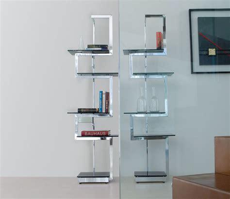 libreria metallo design libreria a giorno autoportante bifacciale in metallo