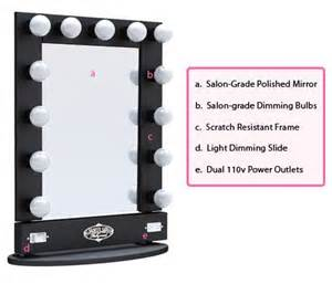 Vanity Lighted Broadway Mirror Broadway Lighted Vanity Mirror Table Top Home
