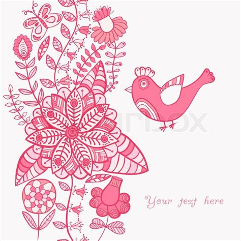 valentines card designs to print floral background summer theme greeting card template
