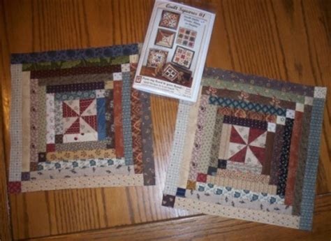 Log Cabin Quilt Square by Quilt Square Quilt Along 1