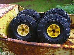 Tonka Dump Truck Replacement Wheels Vintage Tonka Dump Truck Loadmaster Green For Replacement