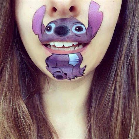 art design mascara spectacular lip art designs by makeup artist laura