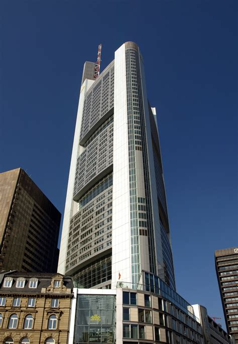 comerz bank commerzbank tower facts ctbuh skyscraper database
