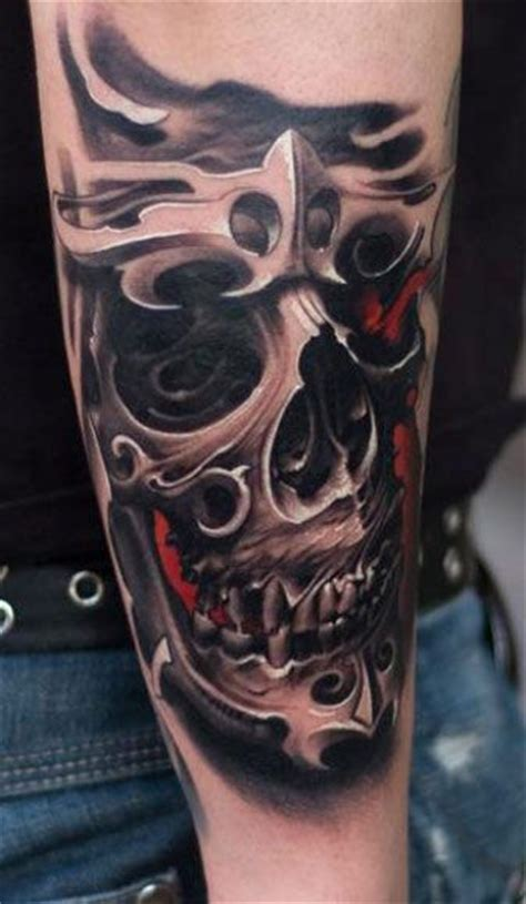 victor portugal tattoo design 14 best bio mechhanical skulls images on skull