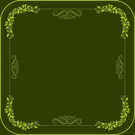 border templates for adobe illustrator classical border template dark green design seamless