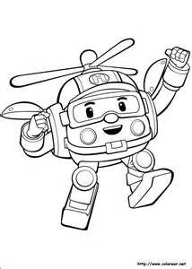 Robocar Poli Coloring Pages Sketch Page sketch template