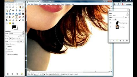 gimp tutorial remove background gimp how to cut out hair in less than 5 minutes remove