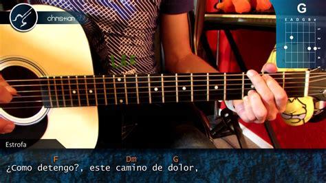 youtube tutorial de guitarra acustica como tocar ciego de reik en guitarra acustica hd