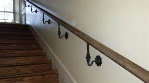 Wrought Iron Handrail Reclaimed Wood And Wrought Iron Handrails Sunset Metal