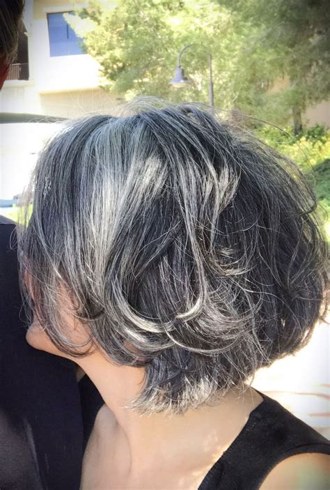 best cut for salt pepper hair 273 best gray over 50 hair images on pinterest grey