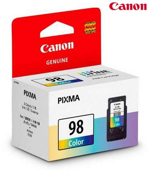 canon e510 cartridge resetter canon cl 98 ink cartridge buy online at best price in