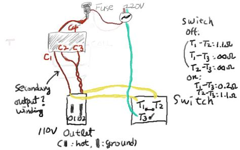 3 wire 220v to 110v wiring diagram 3 get free image