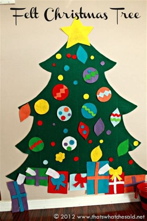 children s felt christmas tree
