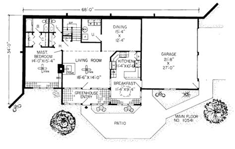Earth Homes Floor Plans Earth Sheltered Homes Floor Plans Earth Contact Home