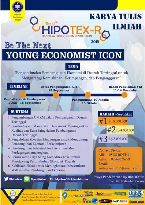 Plakat Seminar Nasional by 3 In 1 Economist Icon Pengen Kuliah