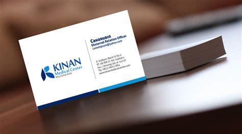 contoh design kartu nama simple jasa desain kartu nama profesional