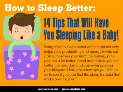 how to get to a better how to sleep better 14 tips that will you sleeping