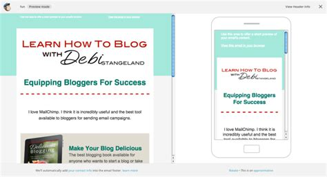 19 How To Design A Mailchimp Newsletter Template The Easy Way Small Blogger Savvy Create Your Own Mailchimp Template