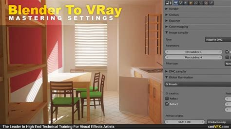 tutorial blender vray from blender to v ray blendernation