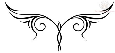 lower back tattoos tribal lower back tribal design