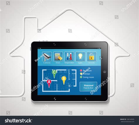 home automation smart security and automated system