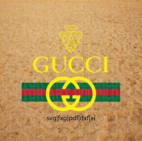 gucci pattern ai gucci original vintage inspired logo vector art svg dxf